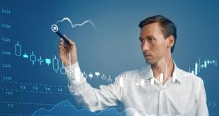 Daytrader analysiert Chart