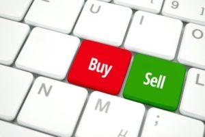 Buy und Sell Knopf