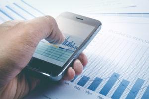 CFD Trading Tipps auf Chart verwenden